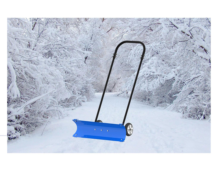 Как сделать скрепер для снега своими руками